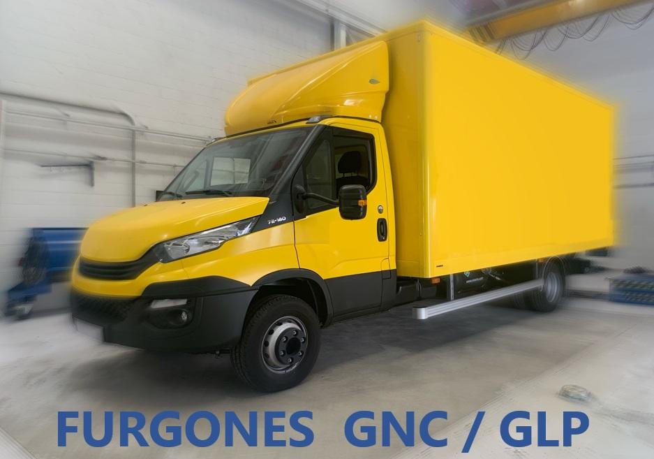 FURGONES GLP
