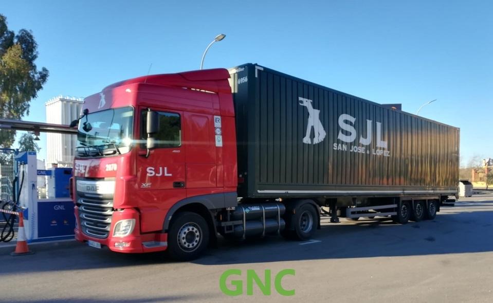 GNC camion
